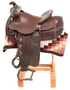 Circa 1930s R.T. Frazier Saddle