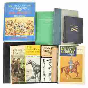Lot Of Miscellaneous Informational Books On U.S.