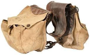 U.S. Cavalry Horse Gas Mask Saddle Bags