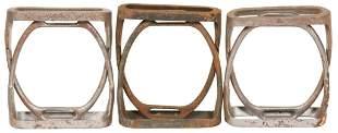 Lot of 6 Antique U.S. Calvary Stirrups