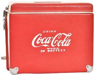 Drink Coca-Cola in Bottles Vinyl Travel Cooler