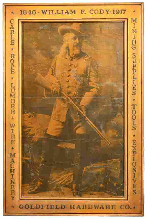 1846-1917 William F. Cody Goldfield Hardware Co. Print