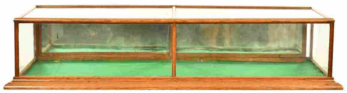 Oak Flat Top Countertop Show Case