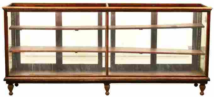 Large Wood Counter Show Case