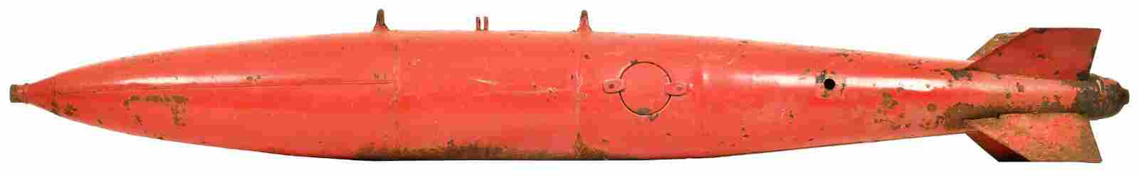 Large Practice Bomb