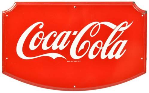 Coca-Cola Porcelain Sign