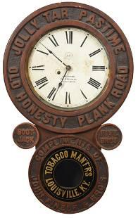 "Jolly Tar Pastime ""Old Honesty Plank Road"" Baird Clock"