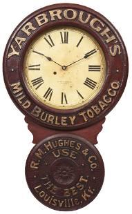 Yarbrough's Mild Burley Tobacco Baird Clock Co.