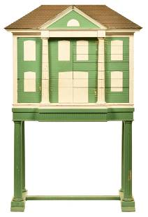 Child's Dentist Cabinet Styled As A Home