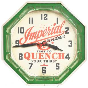 """Imperial Beverages """"Time To Quench Your Thirst"""" Neon"""
