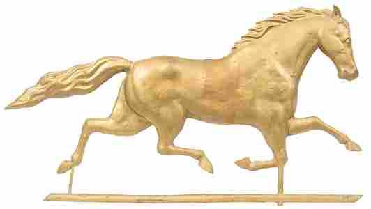 Horse Weathervane Topper