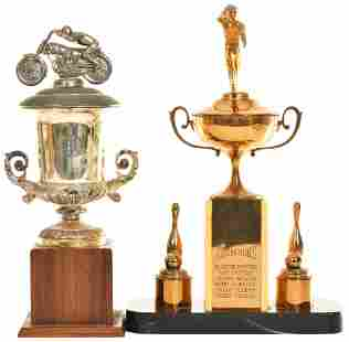 Motorcycle & Bowling Trophies