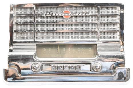 Plymount Indash Car Radio