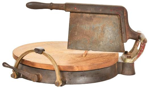 The Dunn Cheese Wheel Cutter