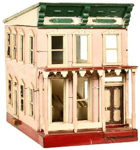 Two Story Town House Style Doll House