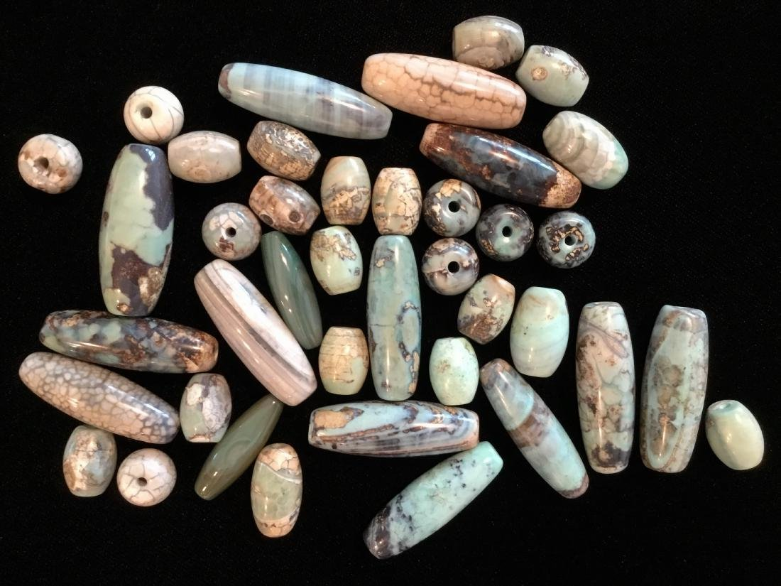AGATE BEADS LOT