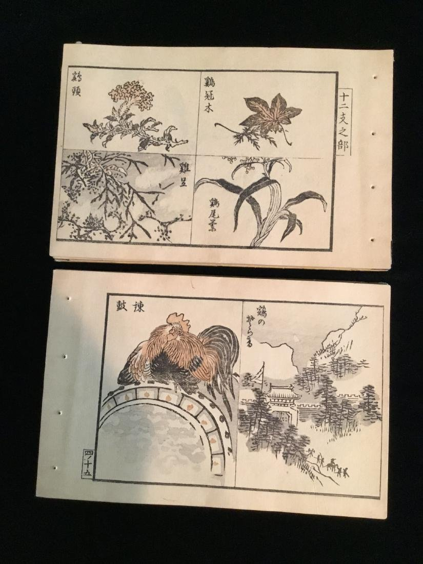 CHINESE JAPANESE WOODBLOCK BOOK - 5