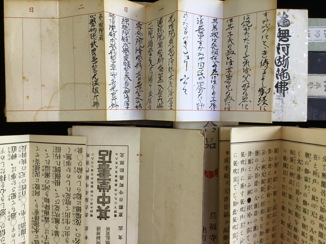 LOT OF CHINESE JAPANESE BUDDHIST BOOKS - 5