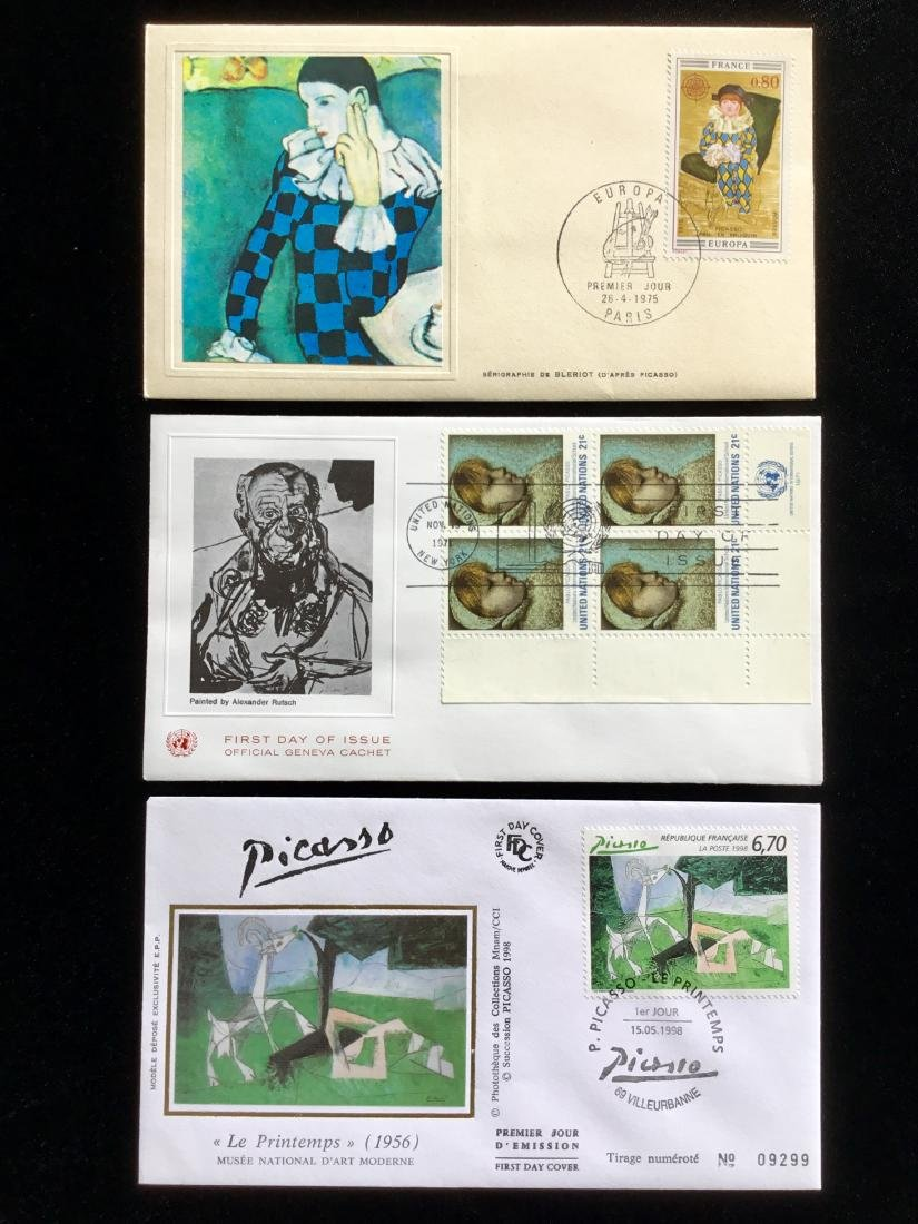 PABLO PICASSO PAINTER STAMPS - 2