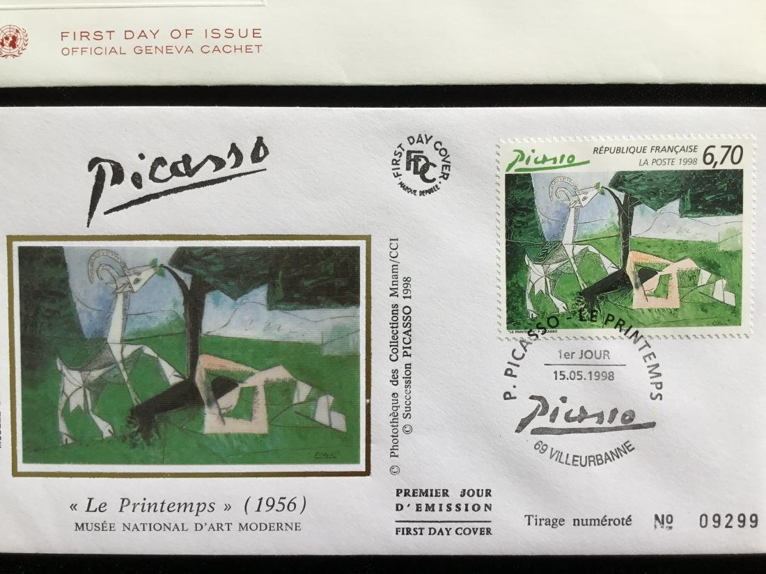 PABLO PICASSO PAINTER STAMPS - 3