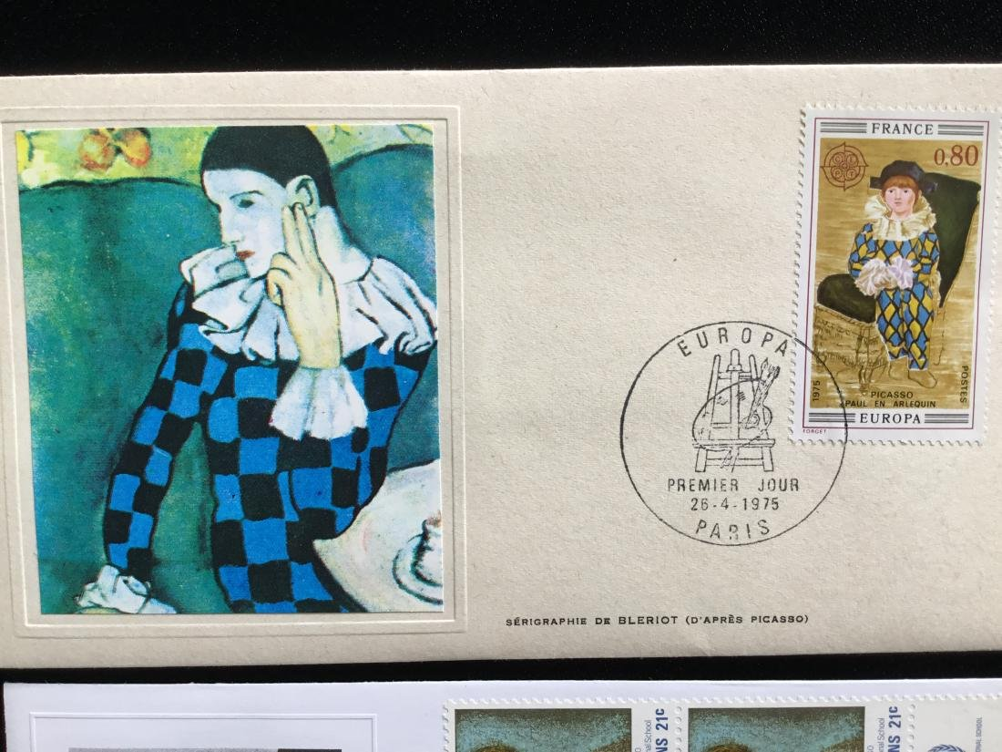 PABLO PICASSO PAINTER STAMPS - 5