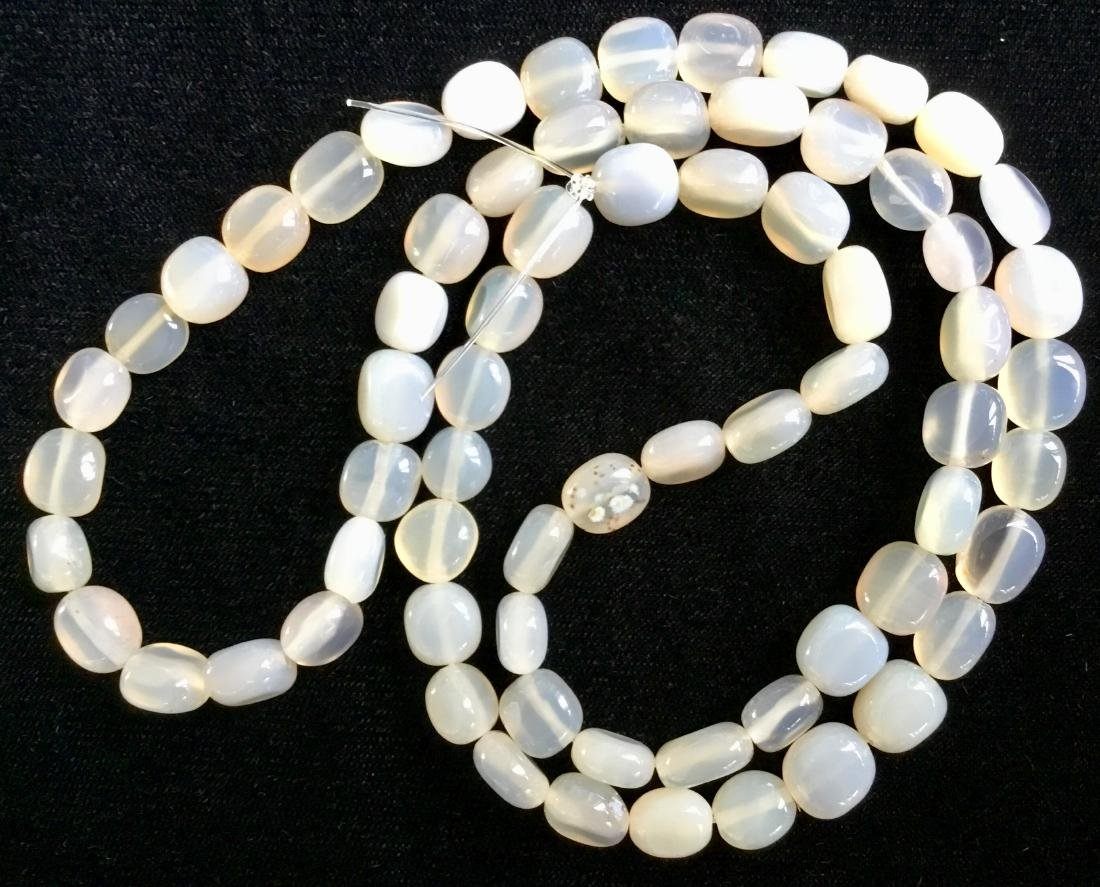 AFRICAN AGATE BEADS - 3