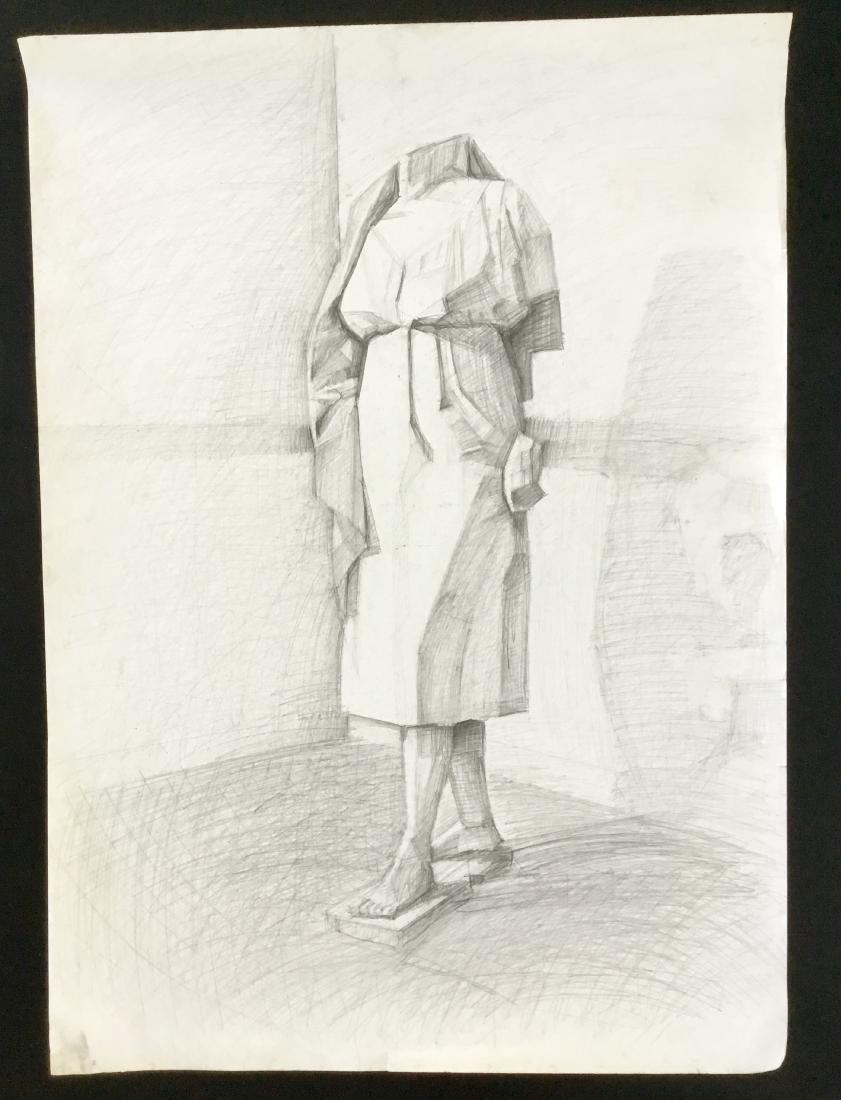 ORIGINAL PENCIL DRAWING POSTER SIZE