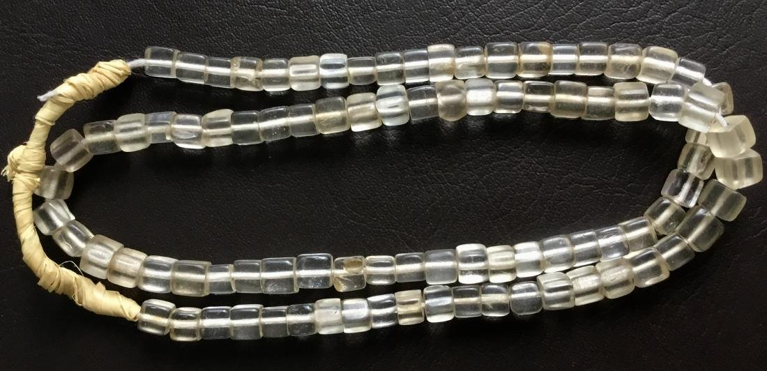 BOHEMIAN AFRICAN TRADE BEADS NECKLACE