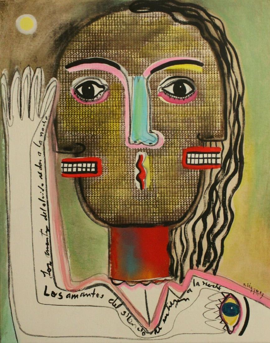 CUBAN ART ORIGINAL PAINTING