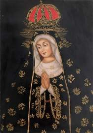 RELIGIOUS PAINTING PORTRAIT OF MARY