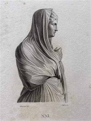 ANTIQUE NEOCLASSICAL ENGRAVING