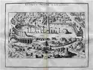 BANDURI ANTIQUE ENGRAVING HIPPODROME OF CONSTANTINOPLE