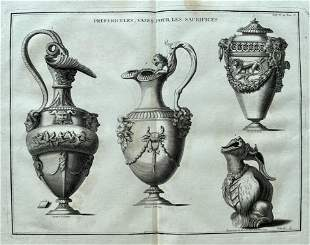 ENGRAVING ANCIENT ROME VASES FOR THE SACRIFICES