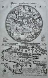 CARDINAL BORGIA MAP DAMASQUINERIE