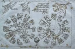 GLOBO CELESTE ARABO MAP
