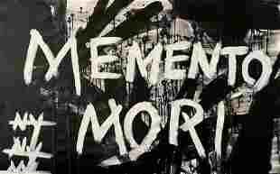 POP ART MEMENTO MORI ACRYLIC ON CANVAS PAINTING