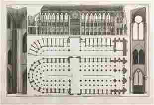 19th C. FRENCH ARCHITECTURAL ENGRAVING