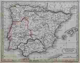 Antique Map HISPANIA ANTIQUA