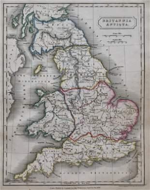 Antique Map BRITANNIA ANTIQUA