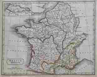 Antique Map GALLIA ANTIQUA