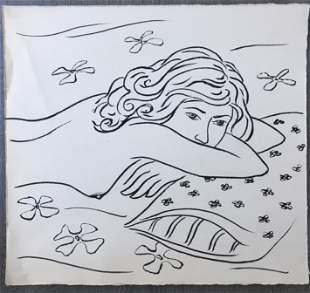 ORIGINAL INK ON PAPER DRAWING