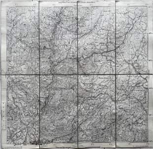 ANTIQUE ITALIAN MAP GRIES