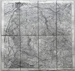 ANTIQUE ITALIAN MAP BOLZANO