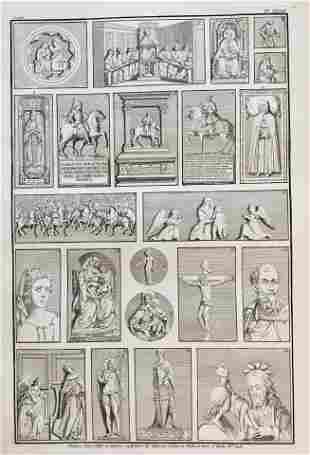19th C. FRENCH RELIGIOUS ARCHITECTURAL ENGRAVING