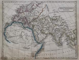 Antique Map ORBIS VETERIBUS NOTUS