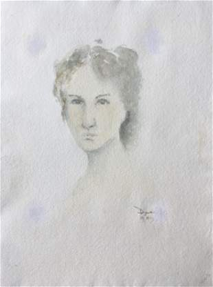 English Watercolor Painting 1989