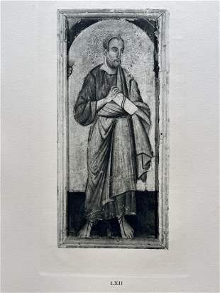 PRINT AFTER MASTER OF SAINT FRANCIS ST JOHN