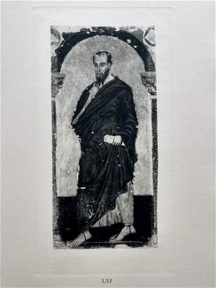 PRINT AFTER MASTER OF ST FRANCIS ST JAMES