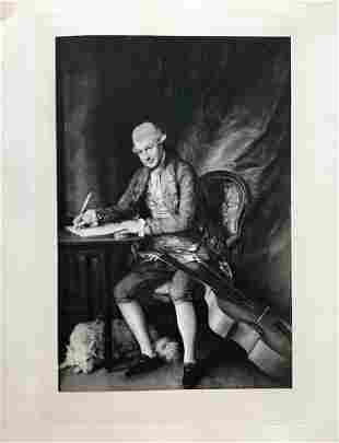 ETCHING THOMAS GAINSBOROUGH CHARLES FREDERICK ABEL