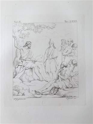 ANTIQUE ITALIAN RELIGIOUS JESUS AND THE APOSTLES